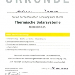 Junkers Solarsysteme 2012