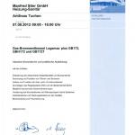 Buderus Gas-Brennwert 2012