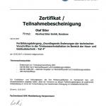 SHK I Zertifikat 2018