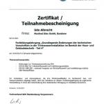 SHK II Zertifikat 2018